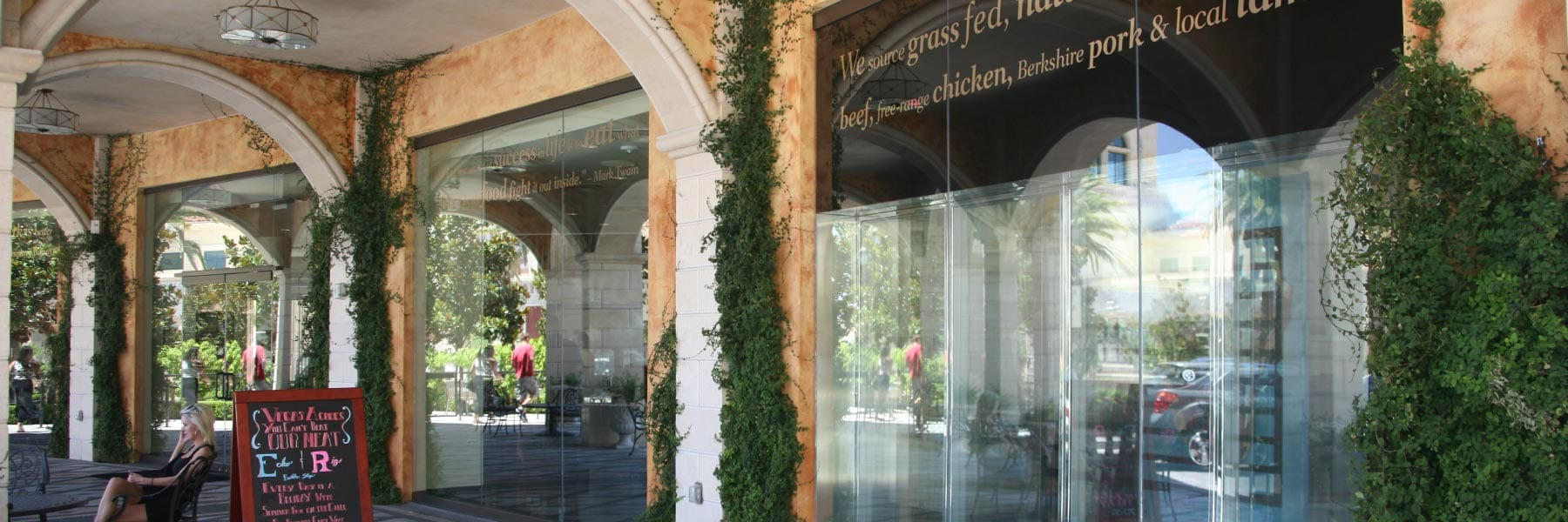 Storefront Glass Walls : Storefront glass curtain wall nvision commercial